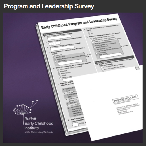 Early Childhood Program and Leadership Survey